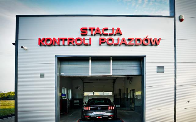 Stacja Kontroli Pojazdów Ostrzeszów